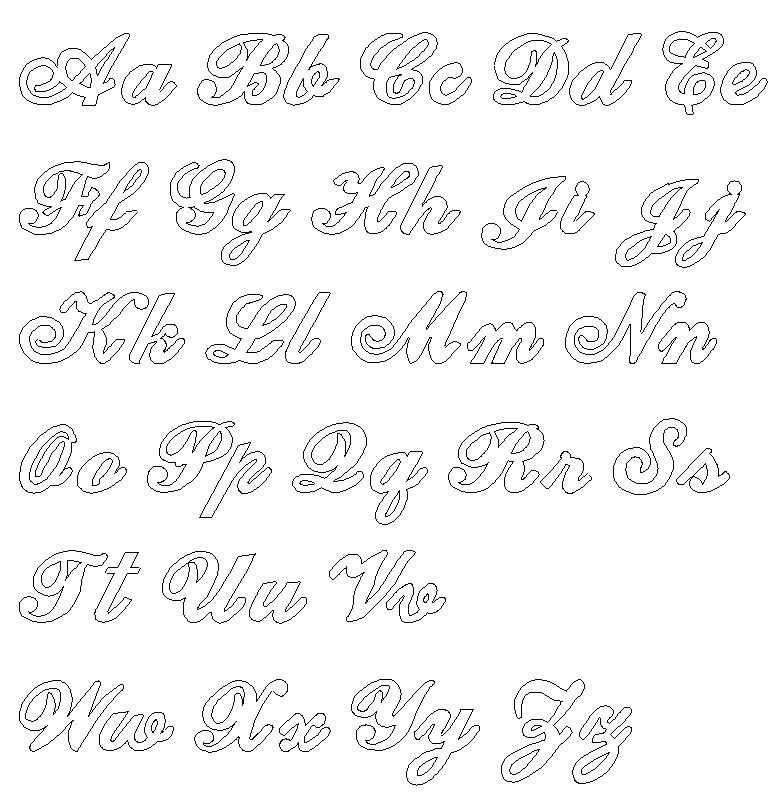 Victorian Font Style