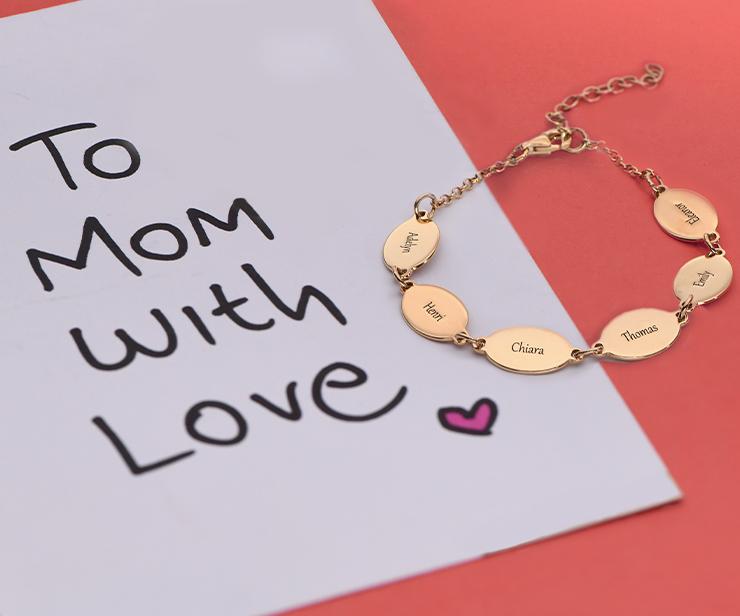 Gioielli personalizzati la mamma amerà