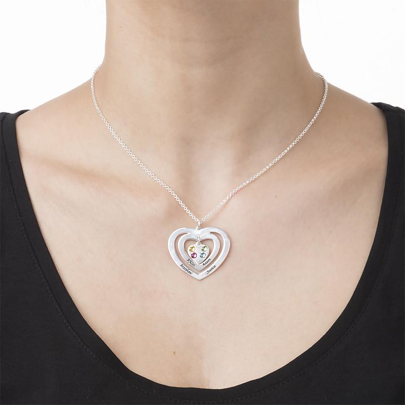 Collana Cuore di Mamma con Pietre Portafortuna - 1