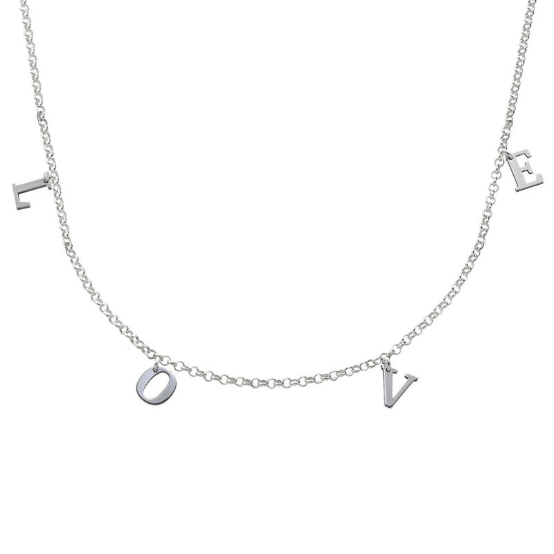 Collana Girocollo con Nome in Argento product photo