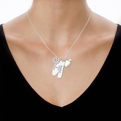 Personalizza la collana con l'Albero della Vita in Argento - 1