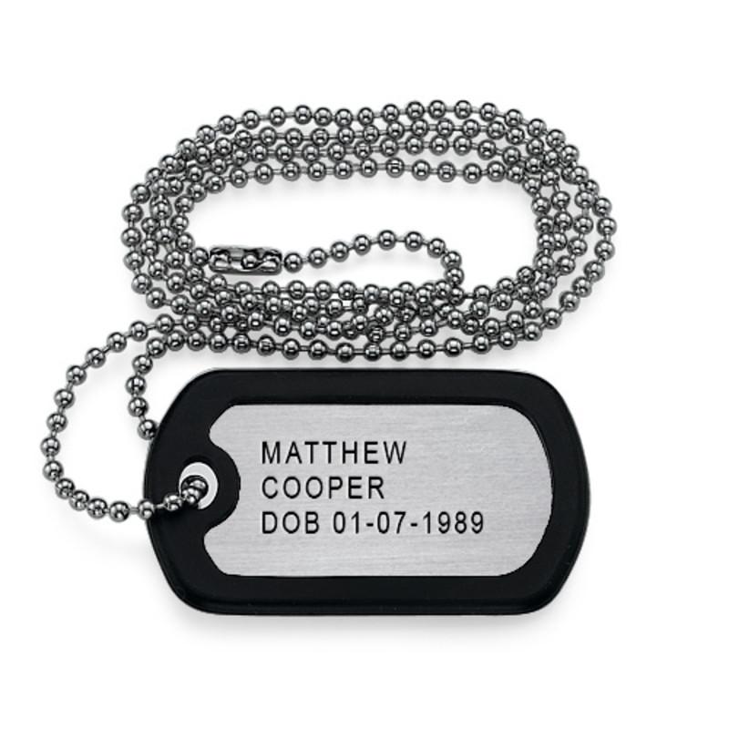 Placca Militare Personalizzata product photo