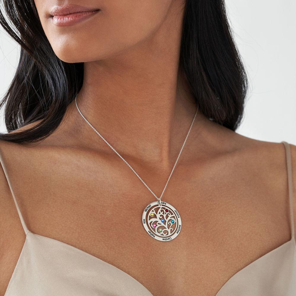 Collana Albero della Vita con Pietre Portafortuna - 2