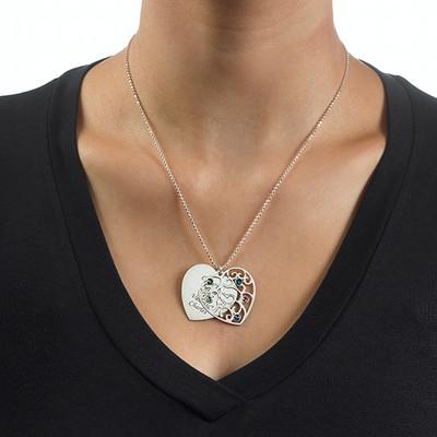 Collana della Nonna con Albero della Vita e pietre portafortuna - 2
