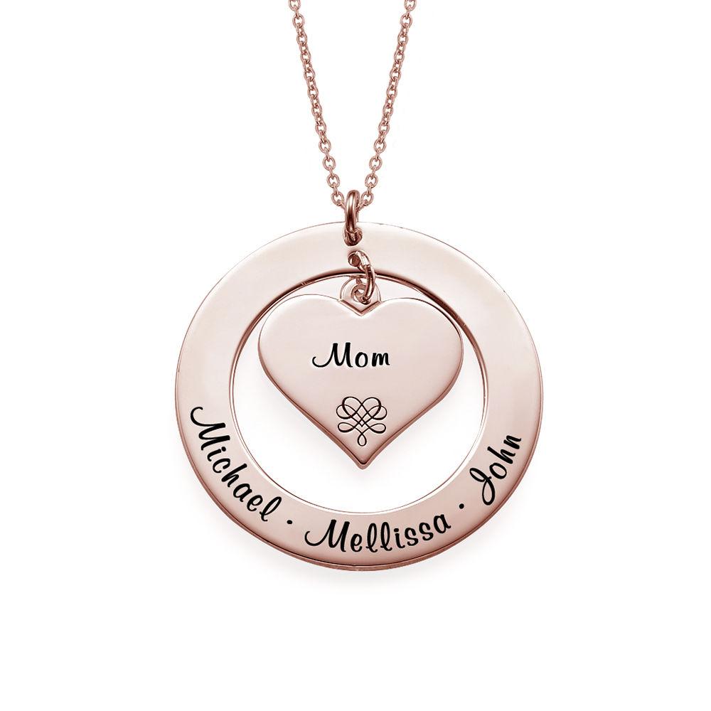 Collana per la Nonna o la Mamma Placcata in Oro Rosa - 1