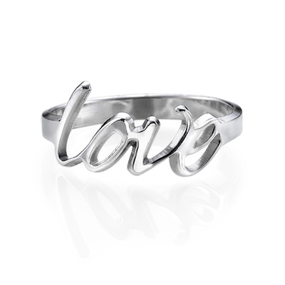 Anello Amore in Argento Sterling