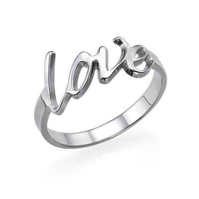 Anello Amore in Argento Sterling - 1