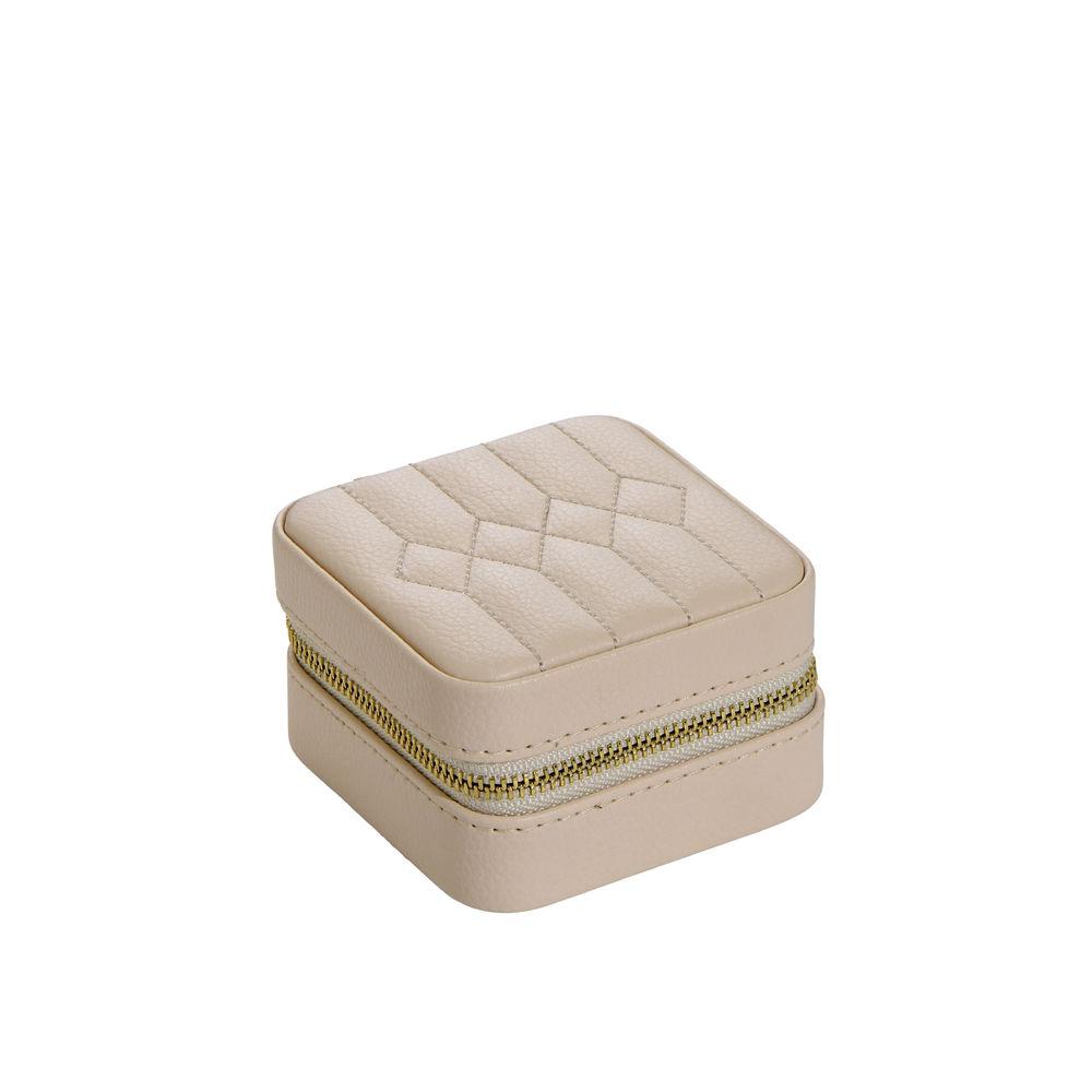 Elegante Portagioie in pelle PU beige - 2