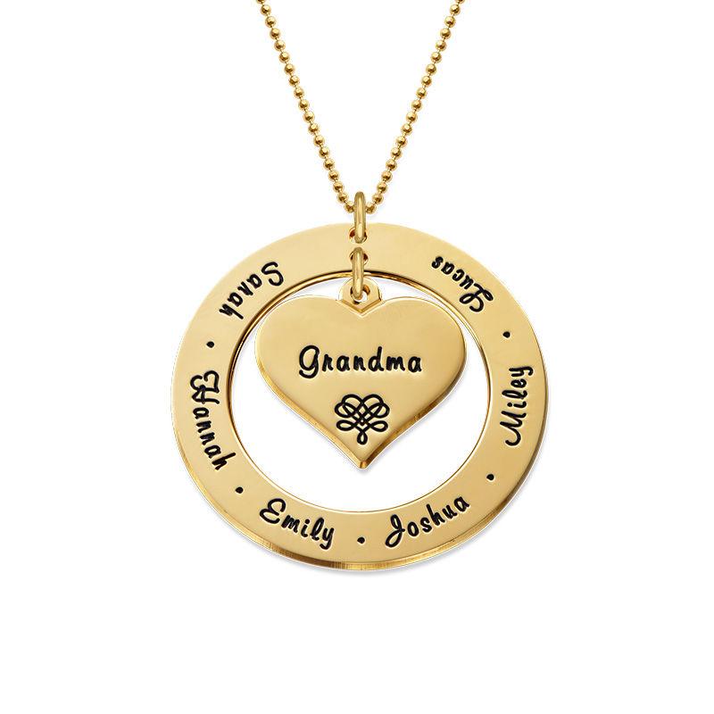 Collana per la Nonna o la Mamma in Oro 10K foto del prodotto