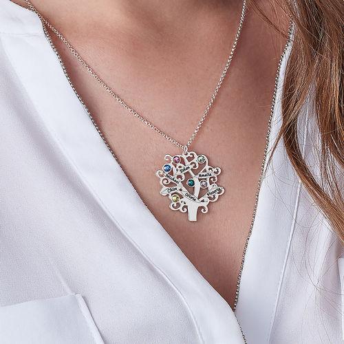 Collana Albero di Famiglia con Pietre Portafortuna - 3