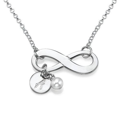 Collana con simbolo dell'Infinito in Argento Sterling