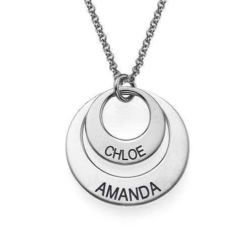 Gioielli personalizzati per mamme-collana a disco - 2