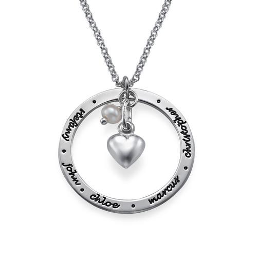 Gioiello personalizzato per mamme in argento