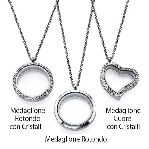 Medaglione con Charm I LOVE YOU - 2