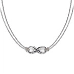 Pendente Infinito in Argento Sterling