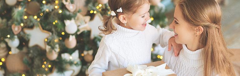 esclusivi regali di Natale per la mamma