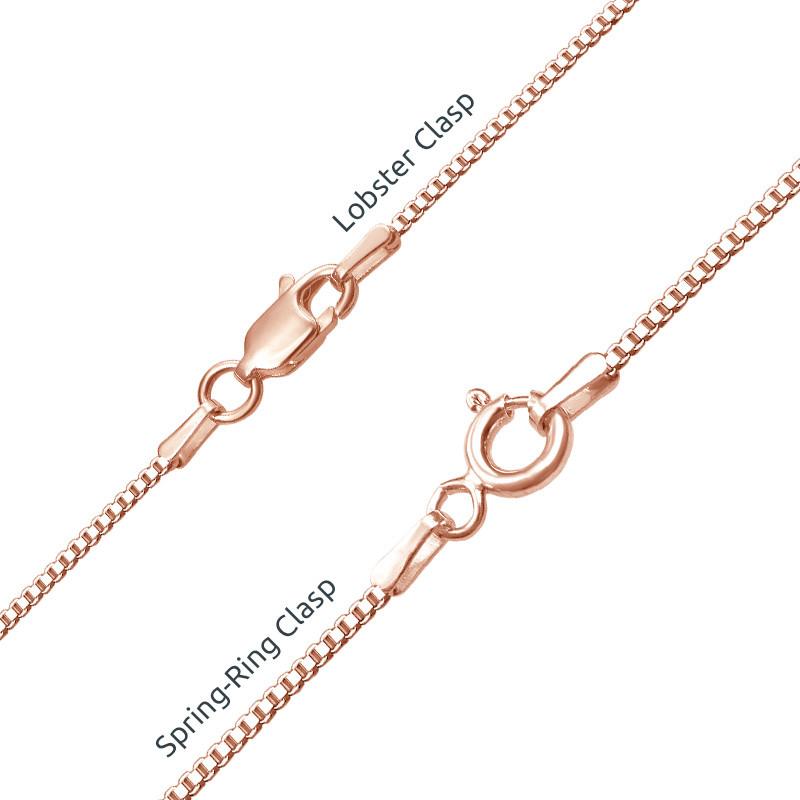 Collar con Nombre Árabe chapado en oro rosa - 2