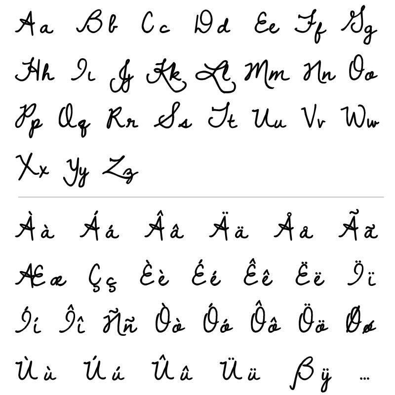 Collar con Escrito a Mano en Plata Chapado en Oro - 5