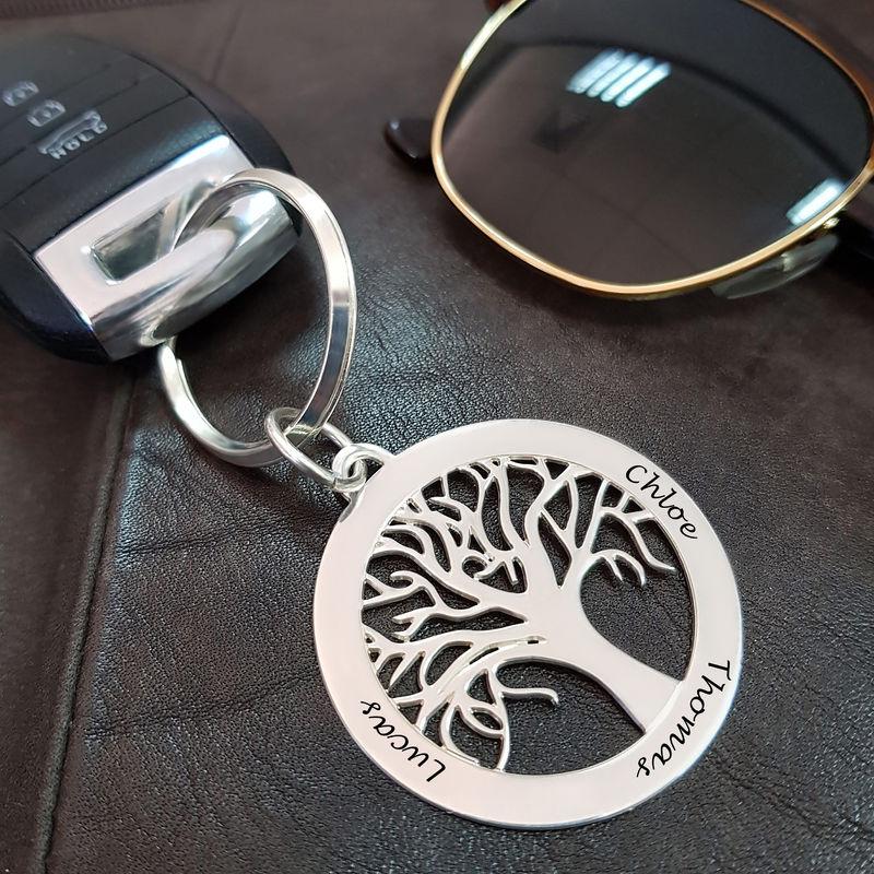 llavero personalizado árbol de la familia - 2