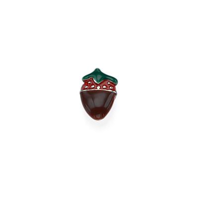 Encanto Fresa Cubierta de Chocolate para Medallón Flotante