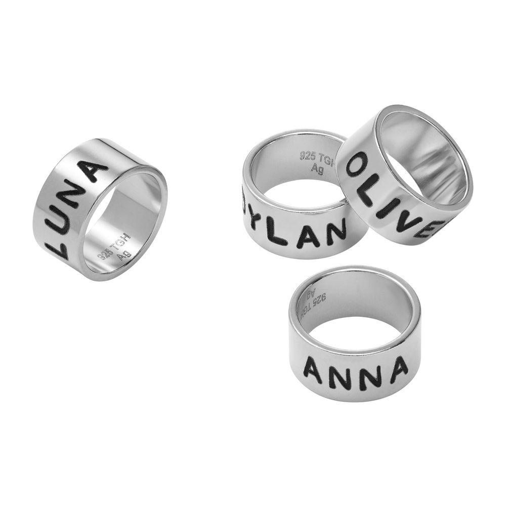 Perlas Personalizada en Plata de Ley para Pulsera de Cuero/Cordón - 1