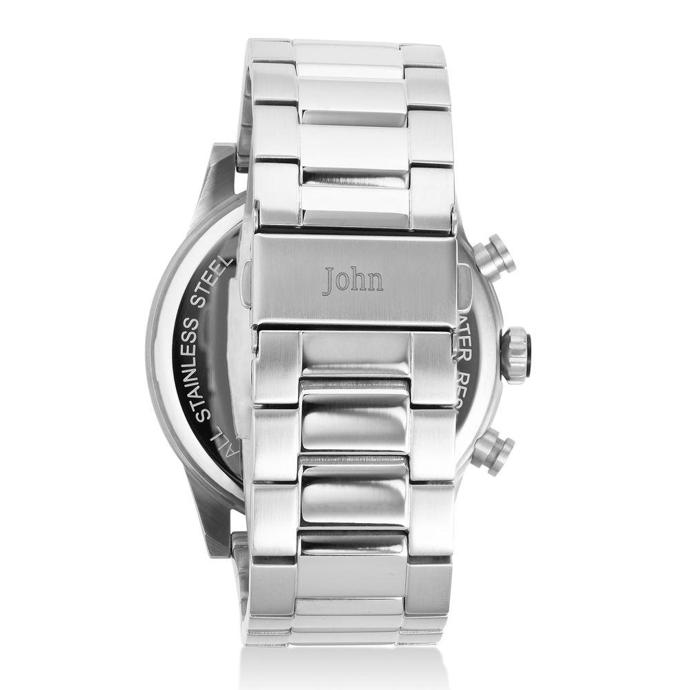 Reloj Quest Cronómetro de acero inoxidable para hombres - 2