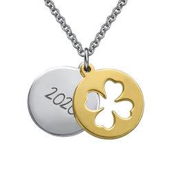 Joyería de graduación - Collar de amuleto de la suerte foto de producto