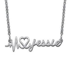 Collar Latido de Corazón Personalizado con Nombre product photo