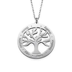 Collar Árbol de la Vida Grabado foto de producto