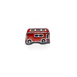 Encanto Autobus de dos Pisos para Medallón Flotante foto de producto