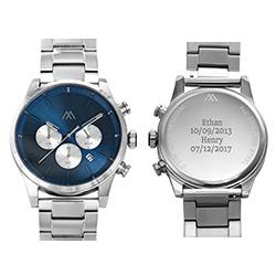 Reloj Quest Cronómetro de acero inoxidable para hombres foto de producto