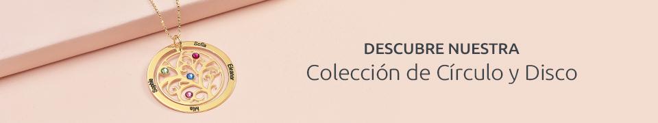 Círculo grabado & Colección de Discos