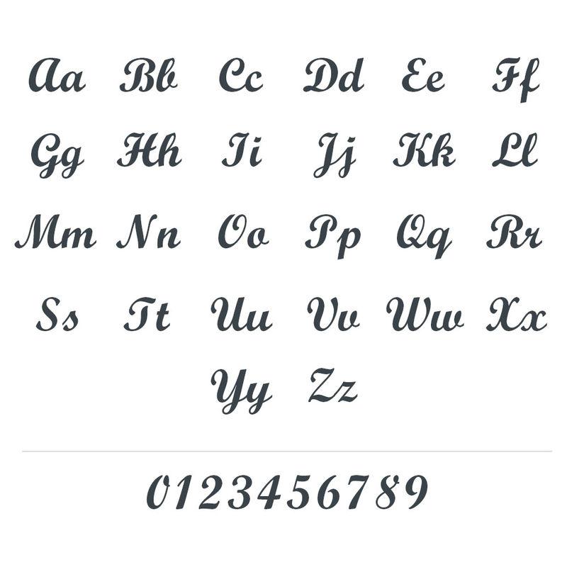 Vergulde Naam Ring met Twee Namen - 5