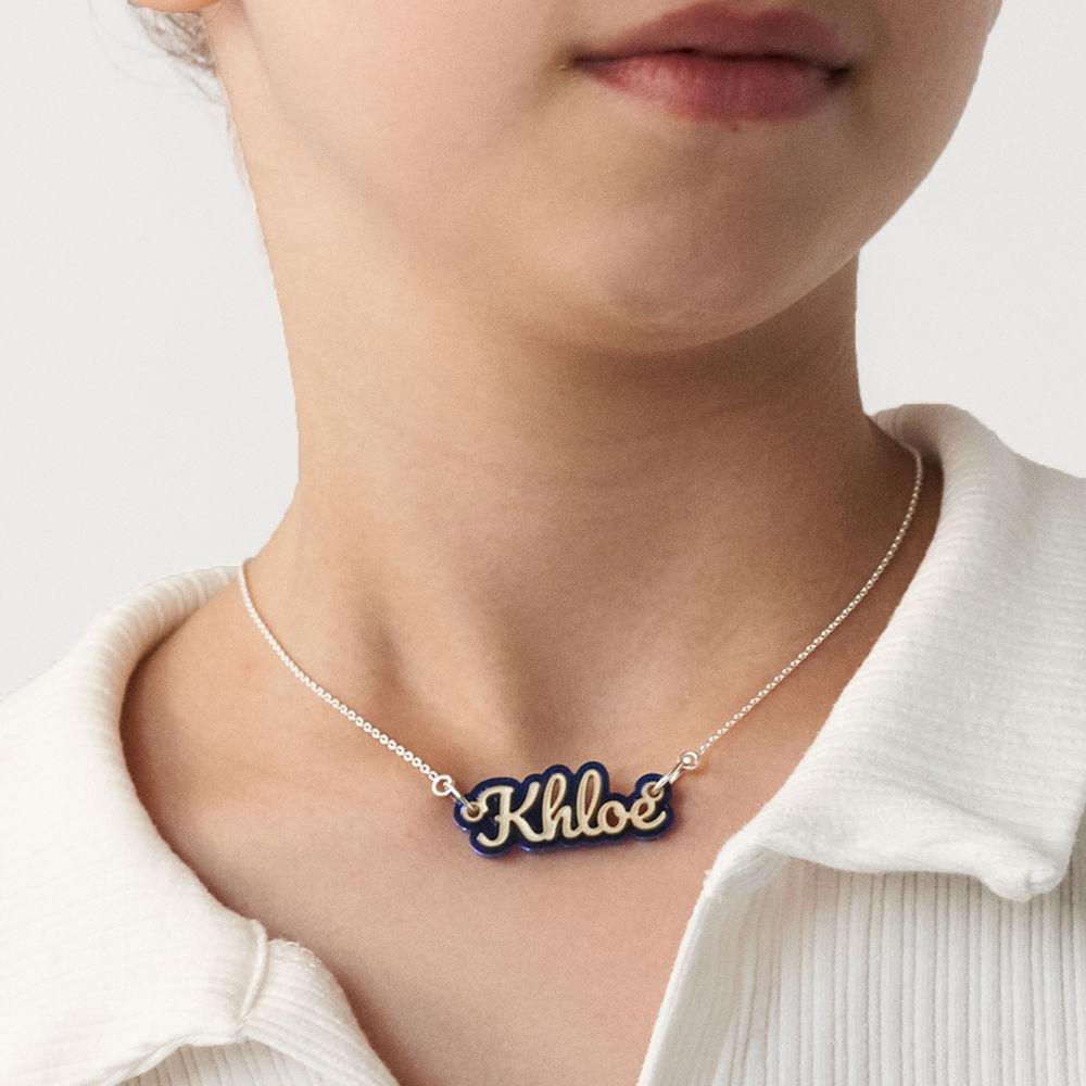 """Lisa"" Kinder Naam Halsketting - 7"