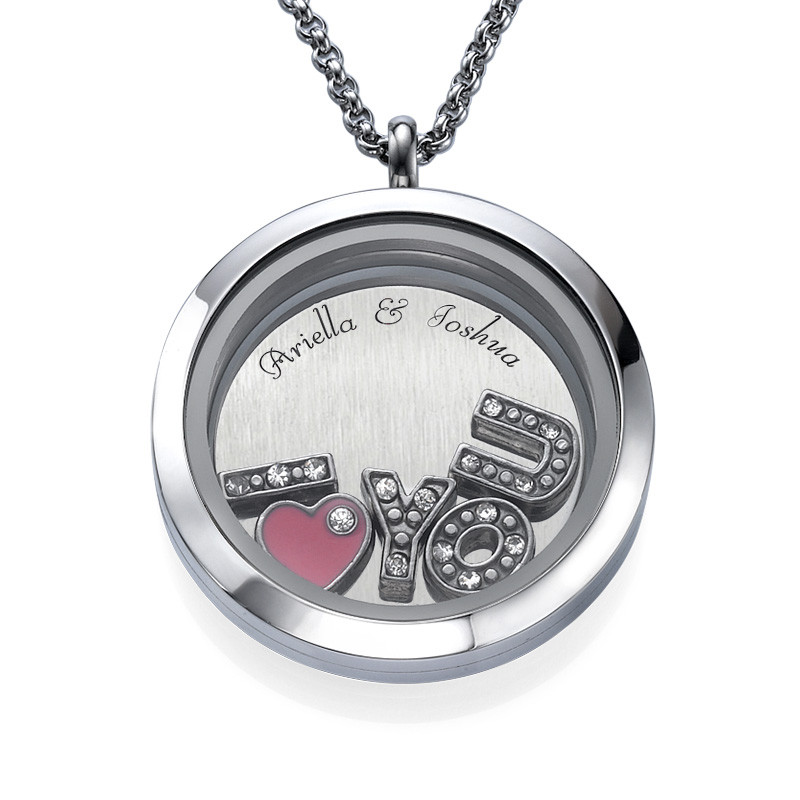 I Love You Floating Locket