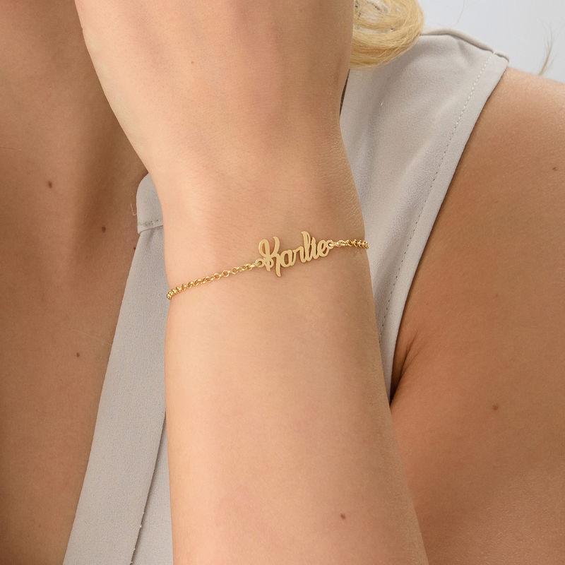 Kleine Vergulde Armband met Naam - 2