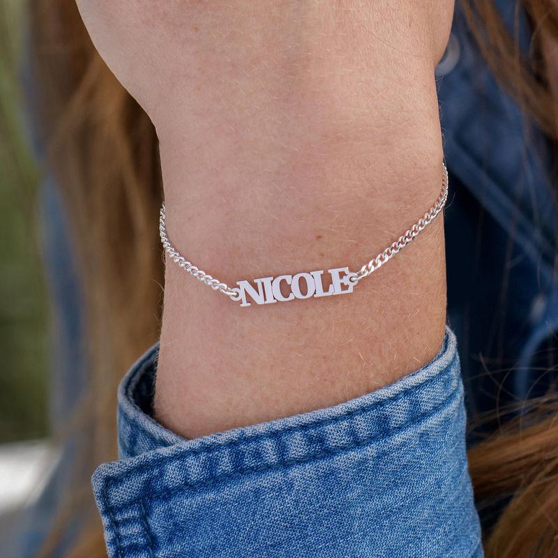 Kleine Armband met Naam - Zilver 0.925 - 1