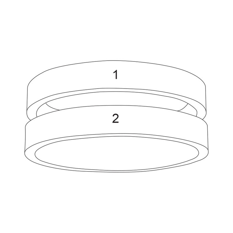 Ring met twee namen in Goud Verguld Vermeil - 4