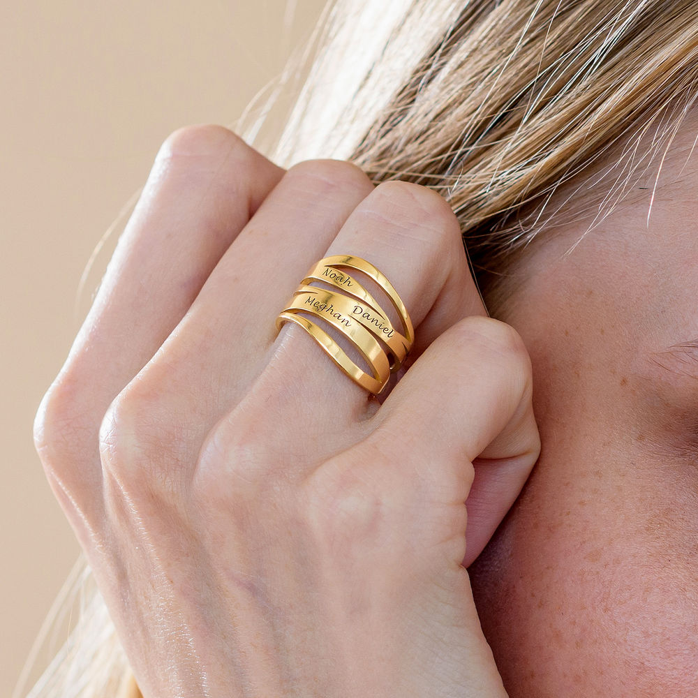 Margeaux Ring in 18K Goud Vergul - 4