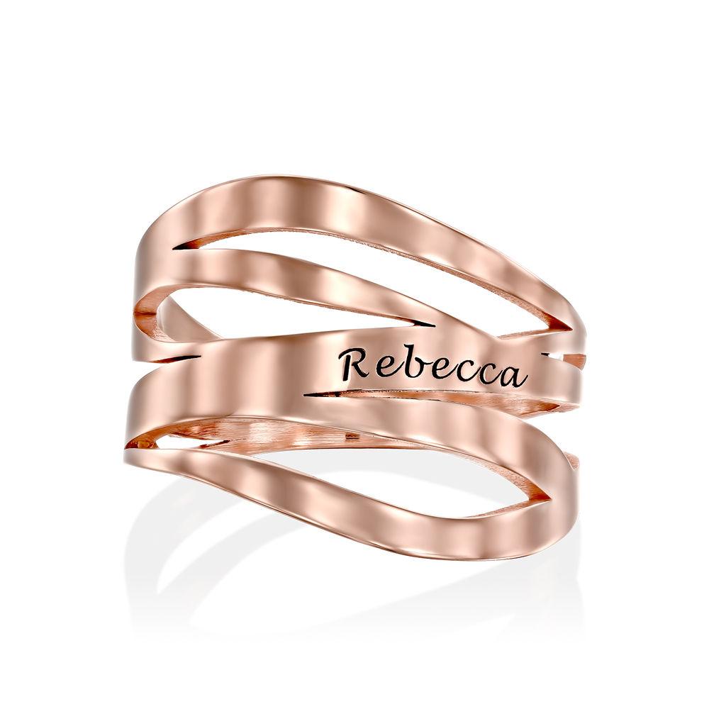 Margeaux Ring in 18K Rosé Goud Verguld - 1