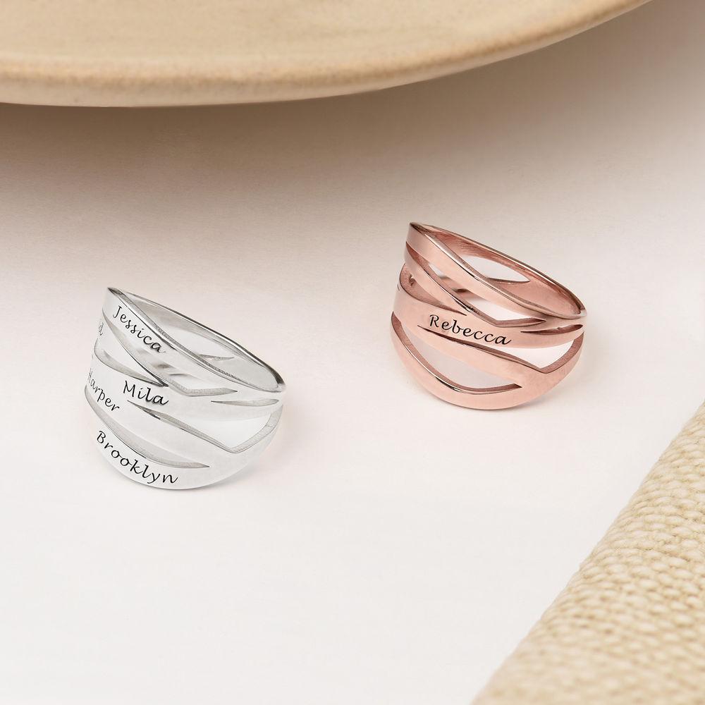 Margeaux Ring in 18K Rosé Goud Verguld - 2
