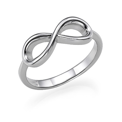 Infinity Ring in 925 Zilver