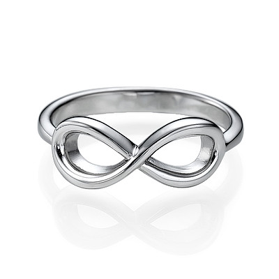 Infinity Ring in 925 Zilver - 1