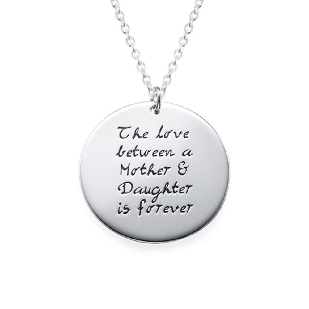 Moeder-Dochter Cadeau – Set van Drie Gegraveerde Kettingen - 1