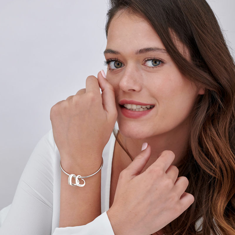 Zilveren hartbedeltje voor armband - 1