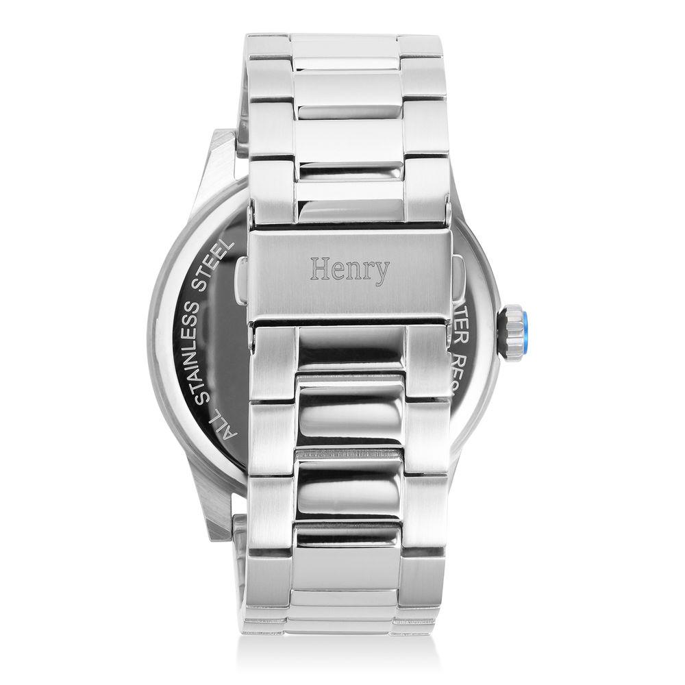 Odysseus Day Date Minimalistisch roestvrijstalen horloge - 2