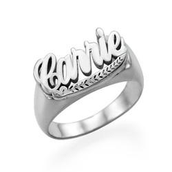 Naam Ring in 925 Zilver Productfoto
