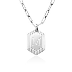 Cupola Link Ketting in Sterling Zilver Productfoto