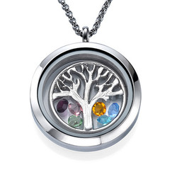 Floating Locket met Stamboom Productfoto