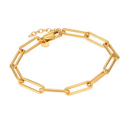 Chain Link Armband in Goud Verguld Vermeil Productfoto